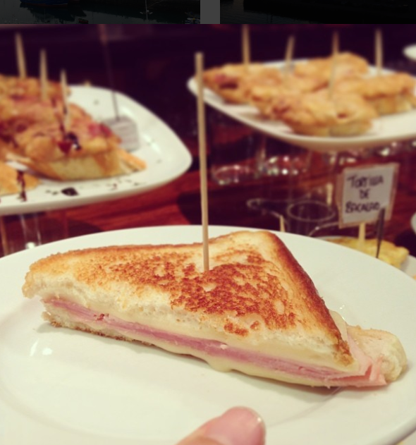 Ham and cheese toastie, why not?